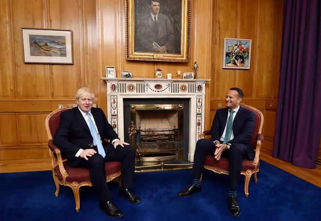 Boris Johnson spoke with Irish Taoiseach Leo Varadkar earlier this week