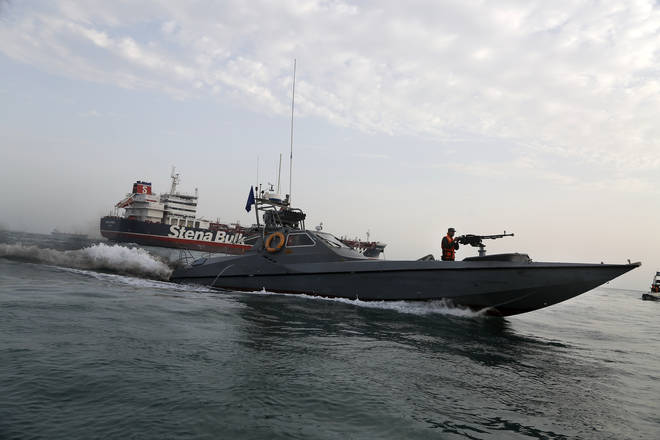 File photo: Issues including the seizure of a British tanker in the Gulf have heightened tensions