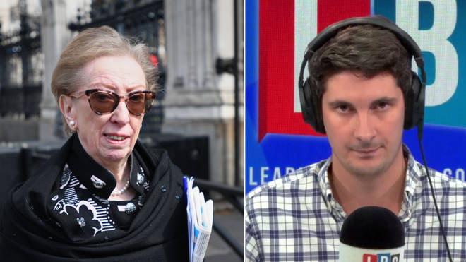 Tom Swarbrick had a feisty exchange with Dame Margaret Beckett