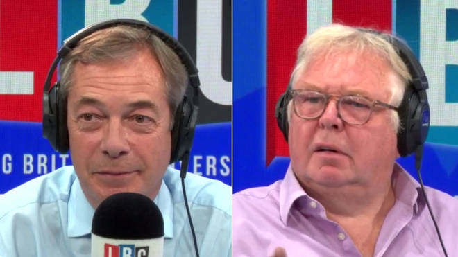 Nigel Farage spoke to Nick Ferrari