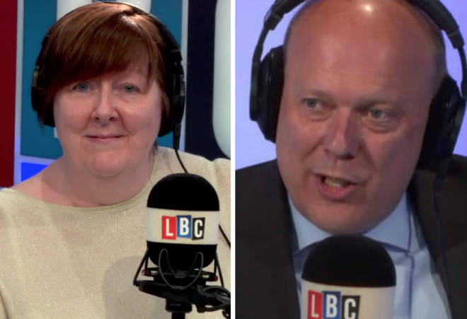 Chris Grayling spoke to Shelagh Fogarty on Wednesday