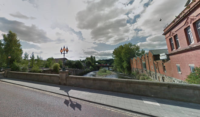 A baby boy has died after being found in the River Irwell in Radcliffe, Greater Manchester