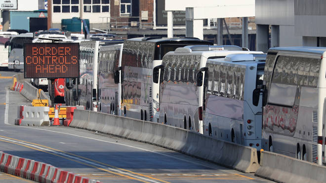 Delays of up to two and a half days are expected at Channel crossings