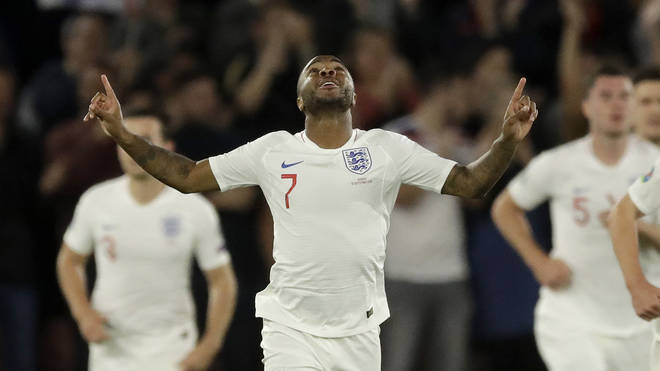 Raheem Sterling was targeted during the game at Wembley Stadium on Saturday
