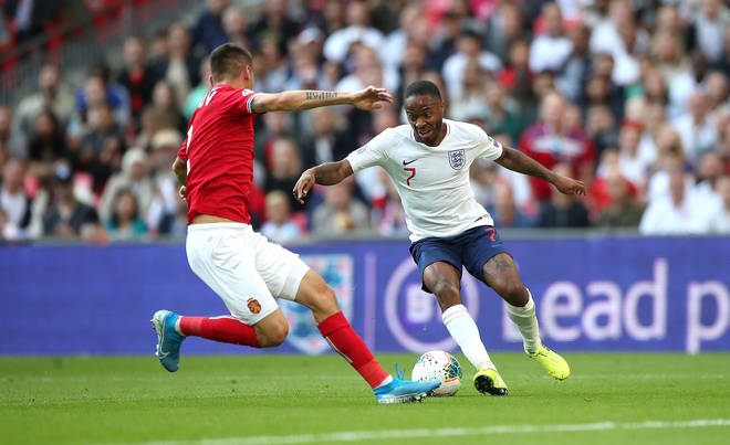 The England star was allegedly abused during the first half