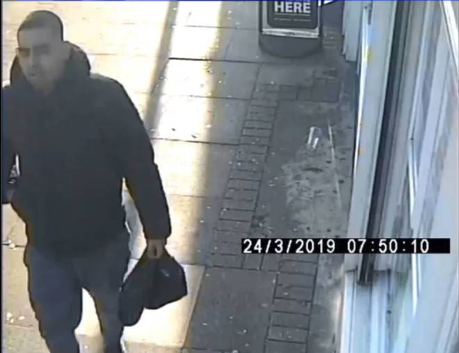 Image man wanted for questioning by police.