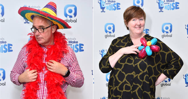 LBC presenters get in the spirit for Make Some Noise Day 2018