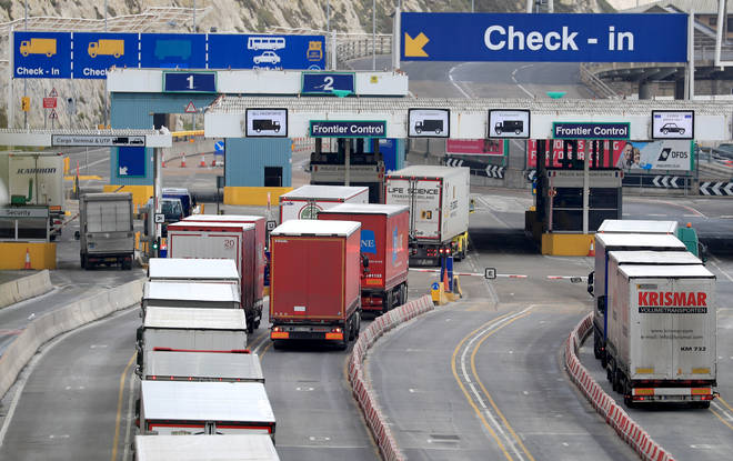 Government documents preparing for a no-deal Brexit have suggested there could be delays of one and a half to two days at Dover