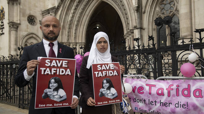 Tafida's parents no longer trust UK doctors and wish to fly her to Italy