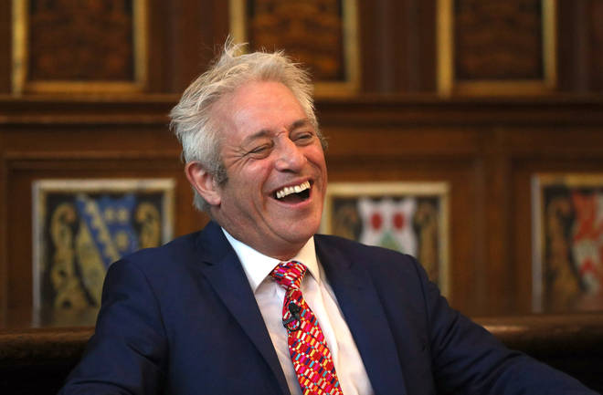 Mr Bercow spoke at the Sixth Annual Bingham Lecture at Middle Temple