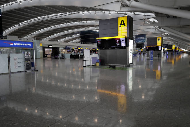 Heathrow was left deserted during the last strike