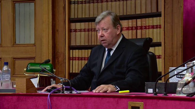 Judge Lord Carloway is Scotland's most senior judge