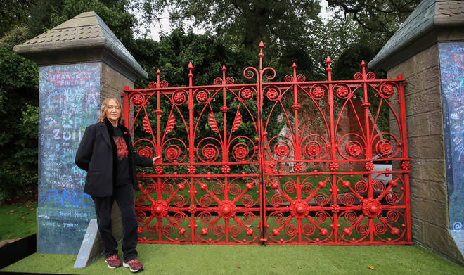 John Lennon's sister, Julia Baird, 72, is honorary president of the Strawberry Field project