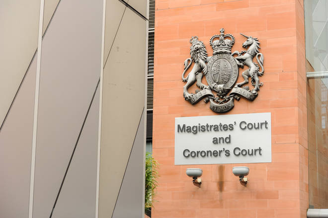 A man has appeared in court accused of murdering his baby son who died after being found in a river in Greater Manchester.