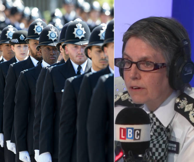 Cressida Dick revealed she is recruiting additional officers