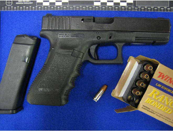 Kyle Davies tried to order a Glock 17 handgun and five rounds of ammunition on the dark web