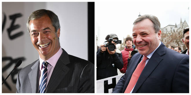 "Leave.EU, spearheaded by Aaron Banks and Nigel Farage, has had an investigation dropped due to ""insufficient evidence"""