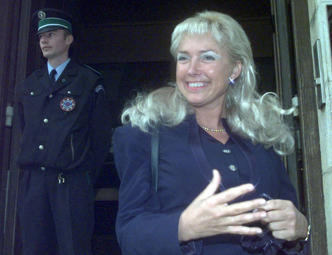 Margaret Moore won the case against her ex-boyfriend in the French courts