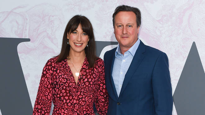David Cameron admitted smoking cannabis during a gathering with his wife Samantha