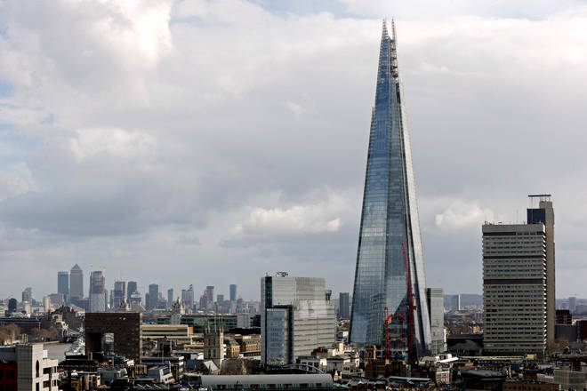 The asteroid is twice the size of the shard
