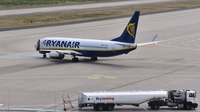 Customers have complained of delays with Ryanair flights overnight