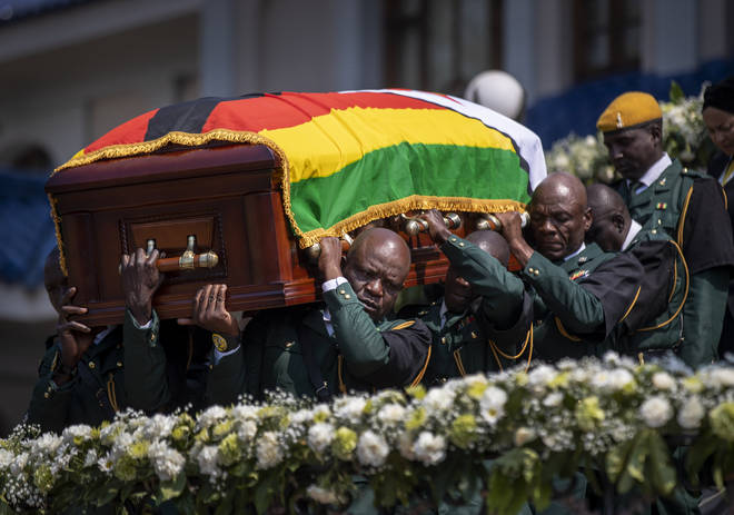 Robert Mugabe died on 6 September 2019