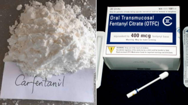 The National Crime Agency wants social media firms to clamp down on sales of killer opioids