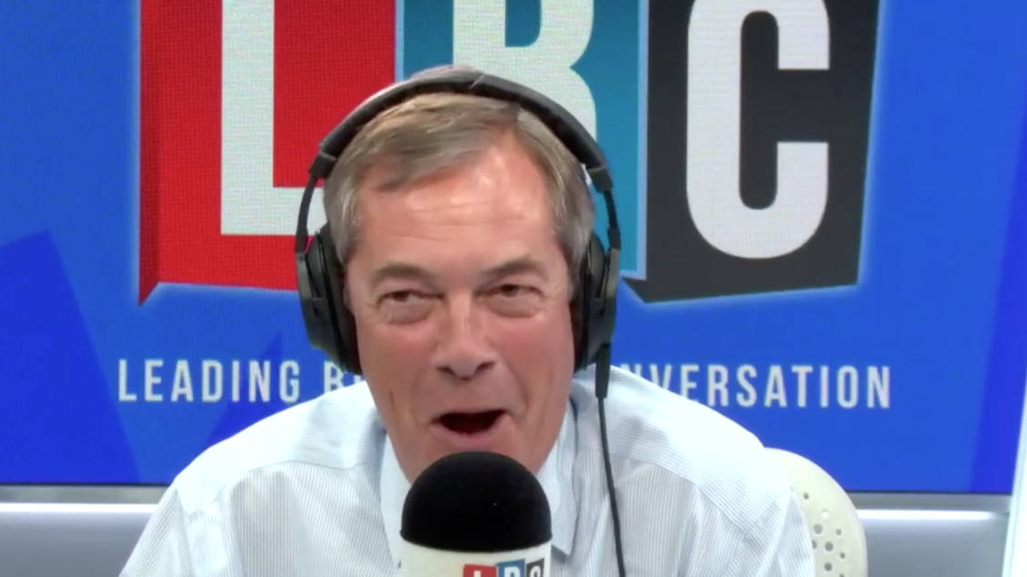 "Sir Nicholas Soames Tells Nigel Farage He ""Paints A Caricature"" Of Career Politicians"