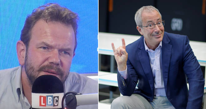 Ben Elton was James O'Brien's guest on Full Disclosure