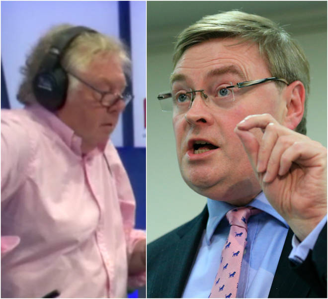 Nick Ferrari and David Campbell Bannerman