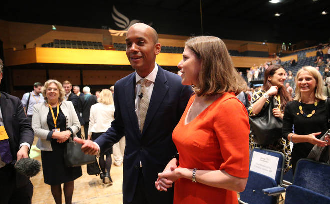 """Mr Umunna described Ms Swinson as """"a big wild card"""" in a forthcoming election"""