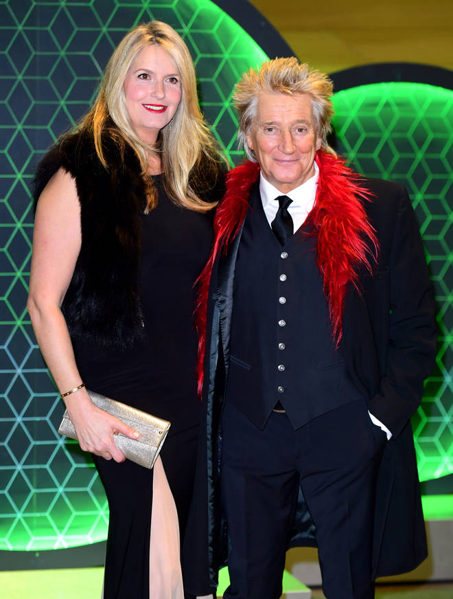 Sir Rod with wife Penny Lancaster