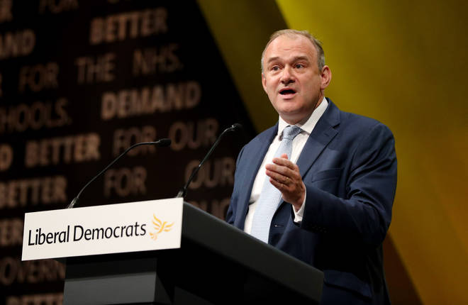 """Sir Ed Davey promised """"shedloads of money"""" to Leave-voting areas"""