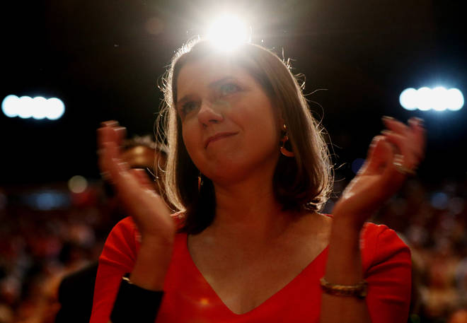 Ms Swinson's party will revoke Article 50 if they win a general election