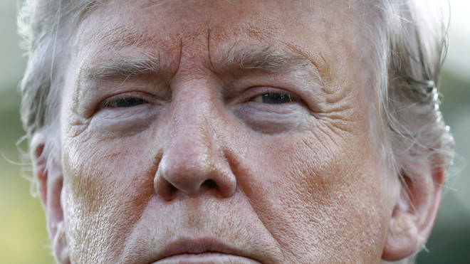 Mr Trump has denied any allegations of wrongdoing
