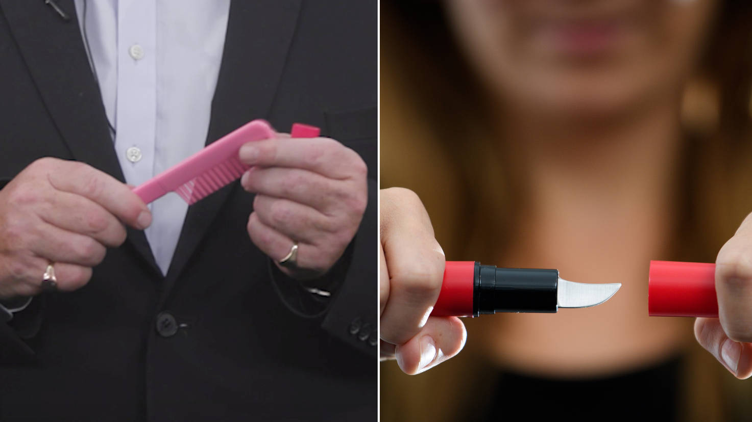 Knives Disguised As Combs And Lipsticks Available For Sale Via Instagram