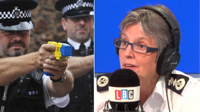 Cressida Dick confirmed more officers will be given tasers