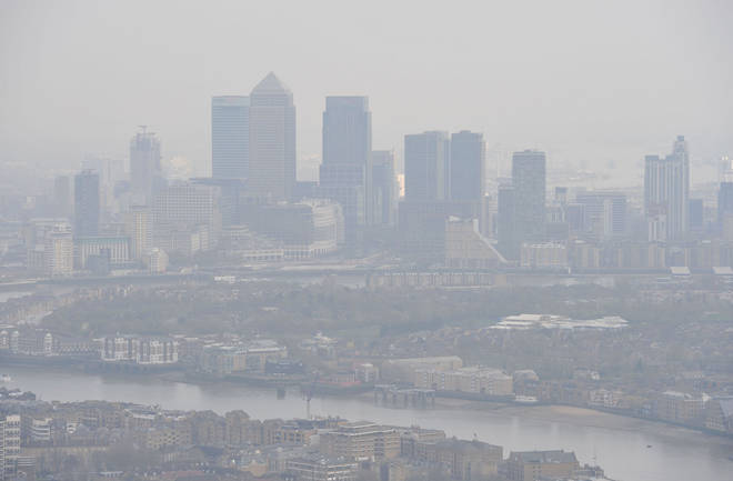 House prices in London could be slashed due to pollution levels