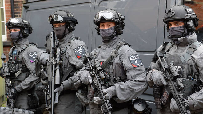 Met Police specialist firearms officers