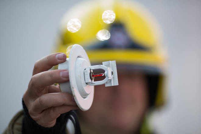 """The Government says sprinklers """"must"""" be installed where """"considered necessary""""."""