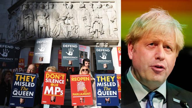Prime Minister Boris Johnson will defend his decision to suspend Parliament