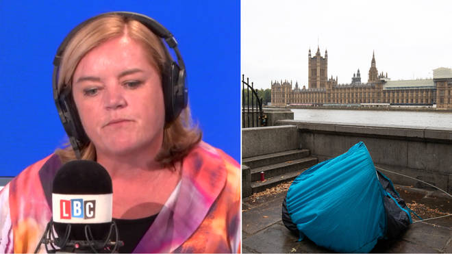 Dame Louise Casey was live on LBC with Iain Dale