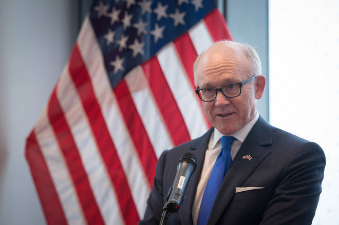 "Woody Johnson, the US ambassador to the UK, said that having ""built the greatest empire"" and ""held off the Nazis"", the British ""didn&squot;t need a lecture from anybody on how to run their country."