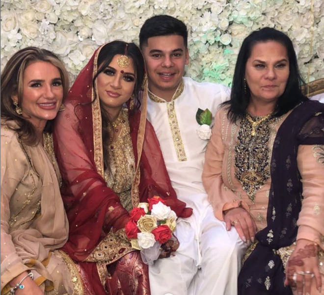 Safaa Malik had a traditional Nikkah ceremony