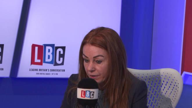 Charlotte Caldwell tells Nick Ferrari she only has 19 days of the drug left.