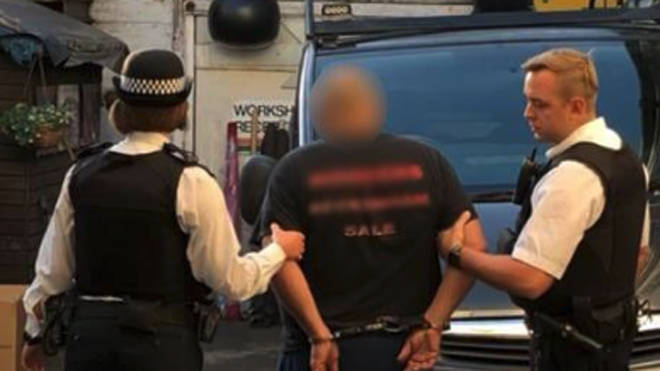 Police made a series of arrests in a dawn swoop today