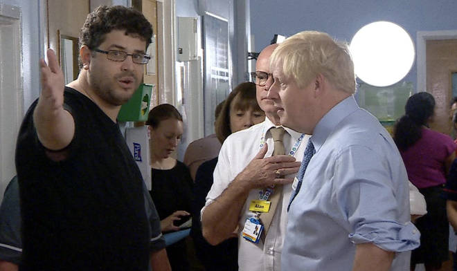 "Boris Johnson Confronted By Parent of Sick Child Over ""Destroyed"" NHS"