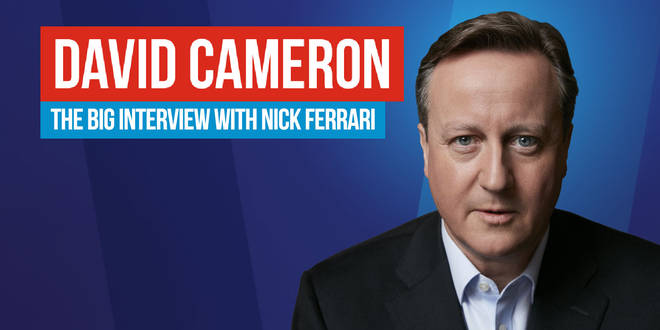 David Cameron: The Big Interview With Nick Ferrari