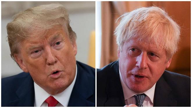 Donald Trump and Boris Johnson condemned the attacks in Saudi Arabia