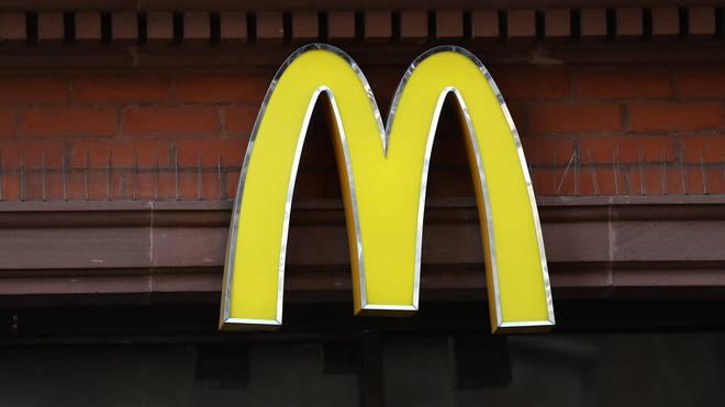 McDonald's said the mistake was down to human error